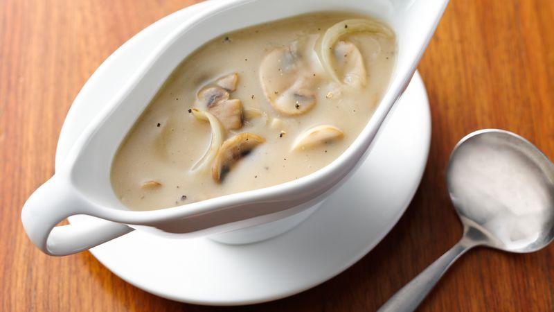 Рецепты соуса из белых грибов: азы приготовления