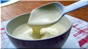 Приготовление молочного соуса