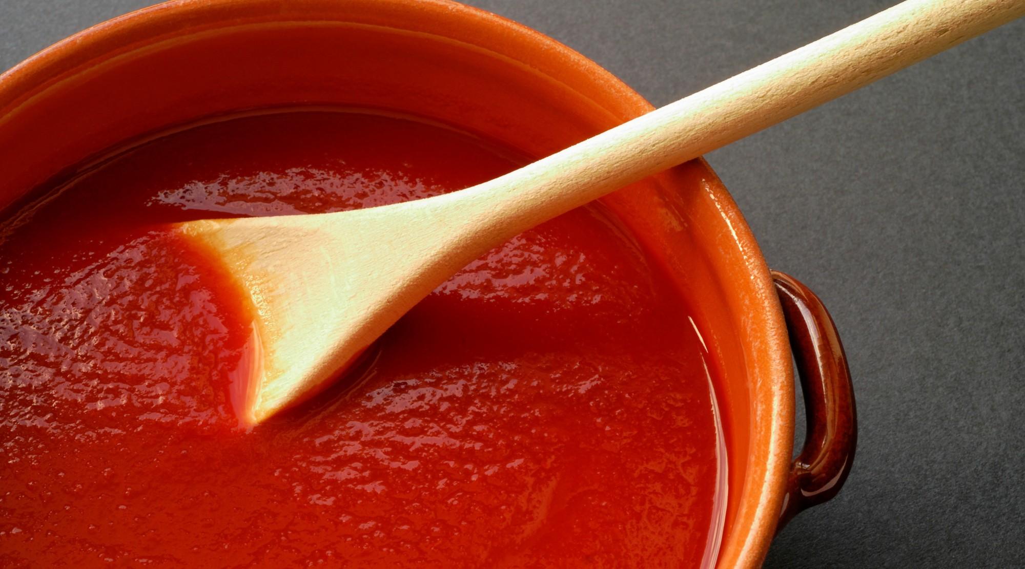 Подлива из фарша: соус, к макаронам, пюре, с томатной пастой