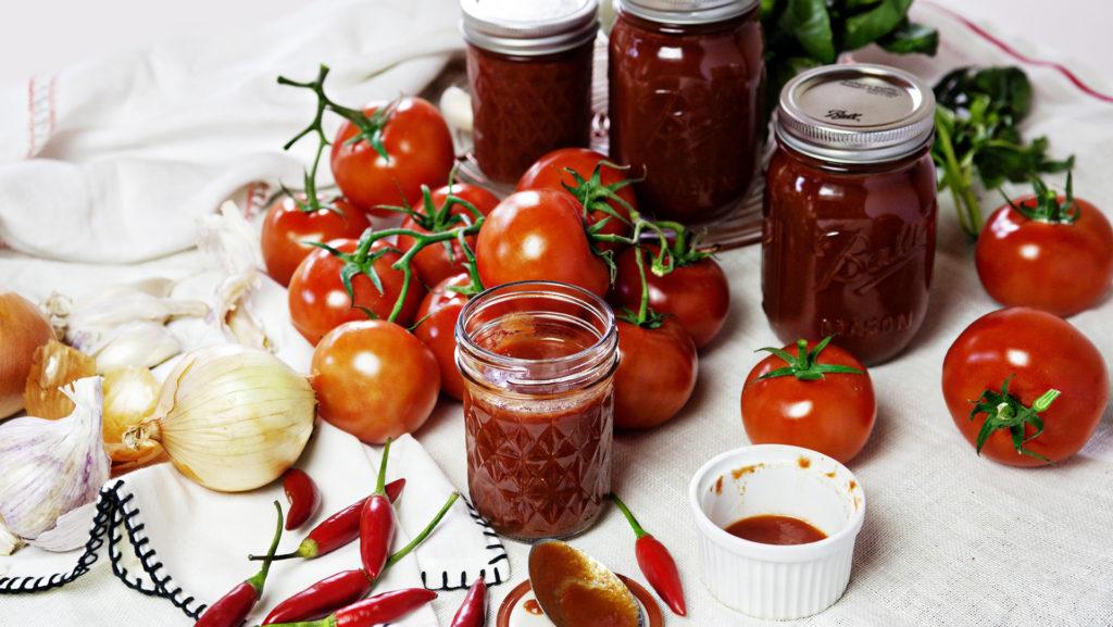 Соус со свежими томатами