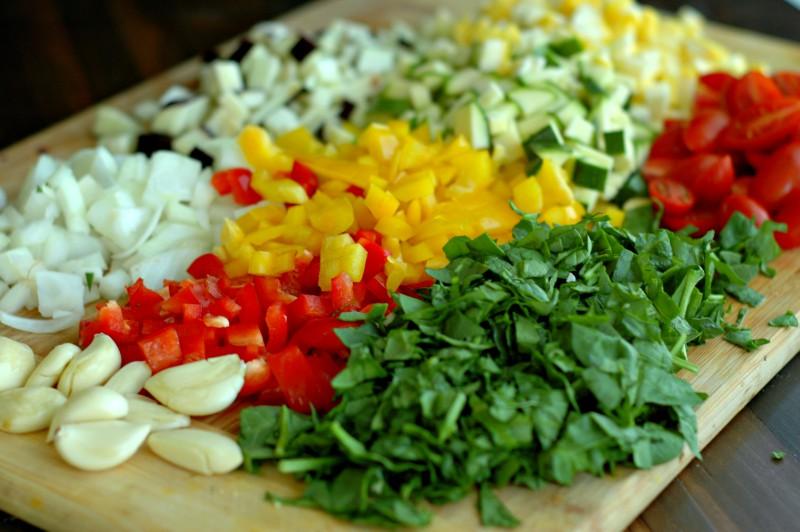 Приготовление овощного соуса