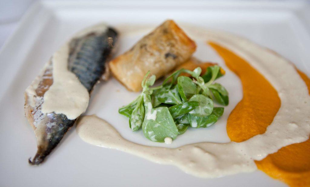 Рыба с постным соусом