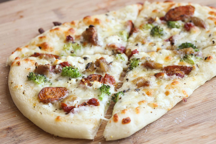 Сливочный соус для пиццы