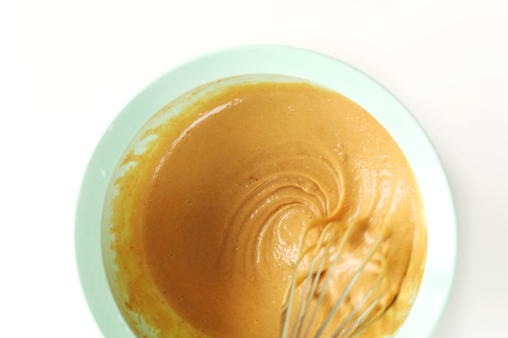 Ореховый соус для чуки