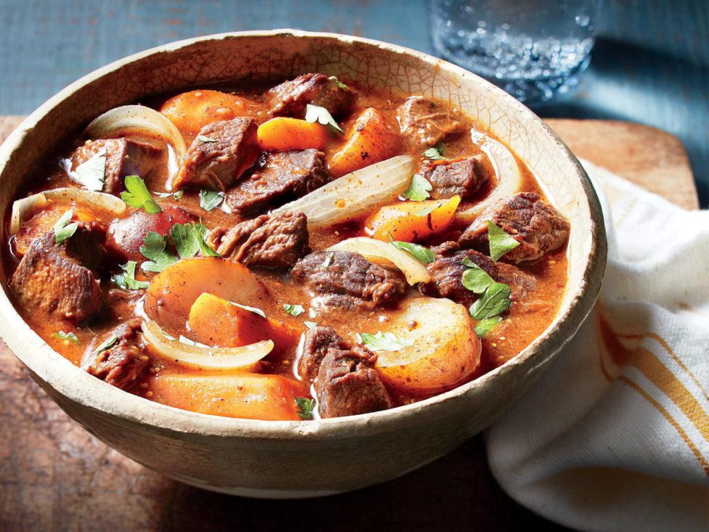 Соус из говядины с картошкой (секрет приготовления соуса с овощами и специями)