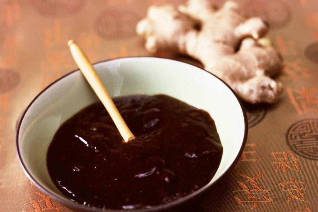 Соус из майонеза и соевого соуса
