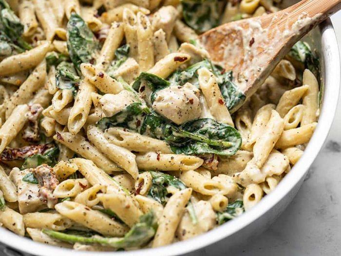Соус с грибами и сметаной для спагетти