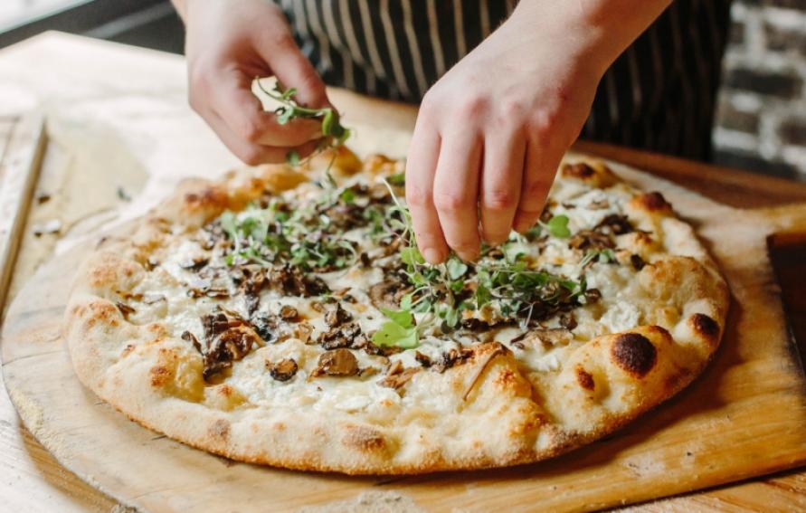 грибной соус для пиццы