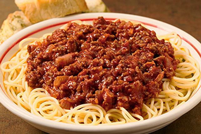 Мясной соус к макаронам