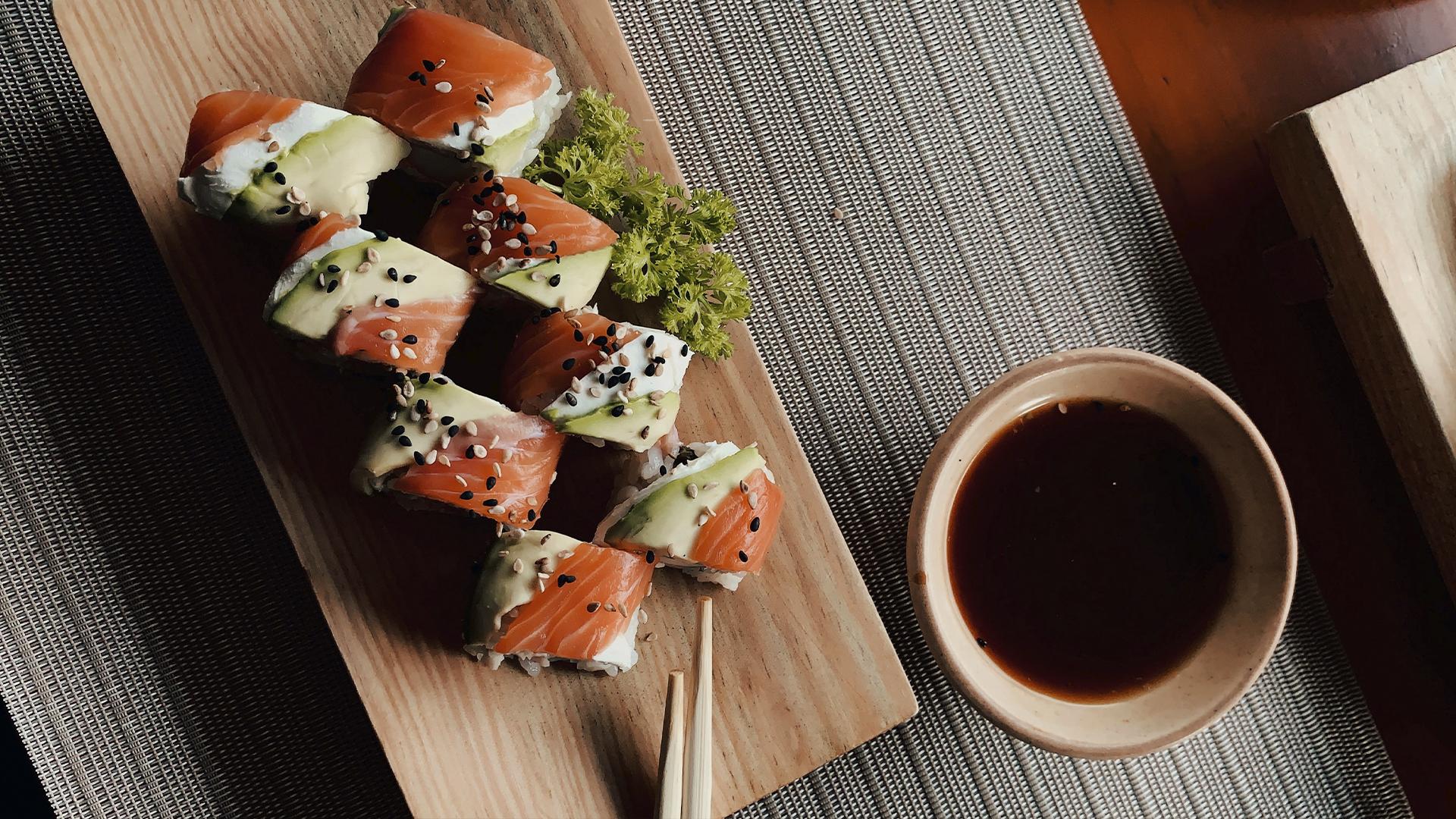 Соусы для суши